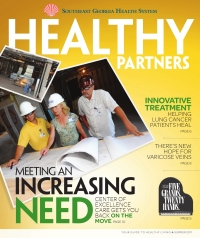 SGHS Healthy Partners Magazine Summer 2011 Edition